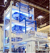 Blown Film Systems Reifenhauser-Kiefel extrusion lines