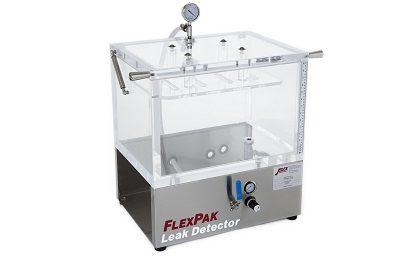 FlexPak package leak detector
